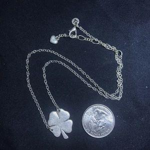 Four leaf clover necklace/choker
